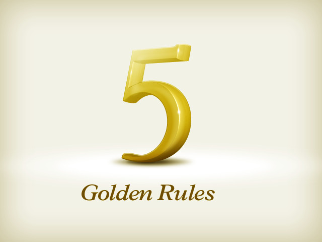 Golden Rules for Therapy Marketing